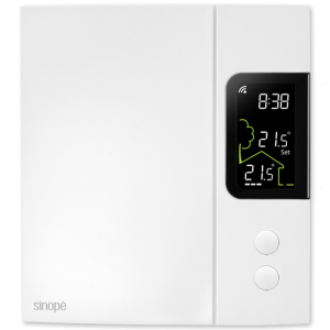 Smart Wi-Fi thermostat for electric heating 4000 W
