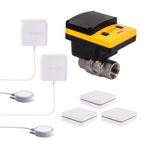 Sedna5 – Smart water damage protection kit – ¾in / 1in – 2nd gen – Wi-Fi