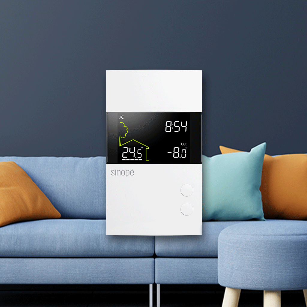 Thermostat intelligent Sinopé