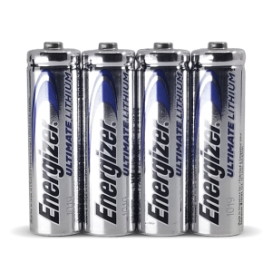 Piles Energizer Ultimate Lithium AAA, paquet de 4