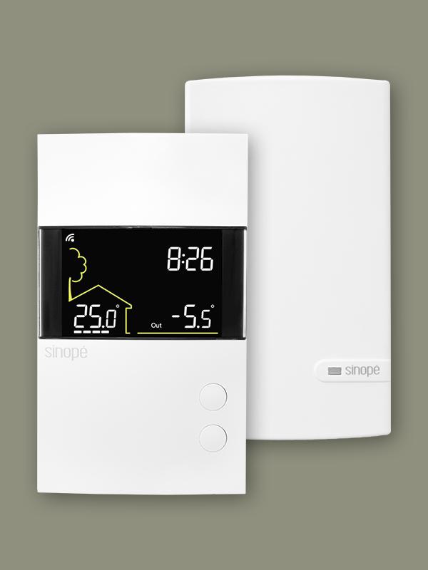 Thermostat Wi-Fi intelligent pour plancher chauffant 3600W