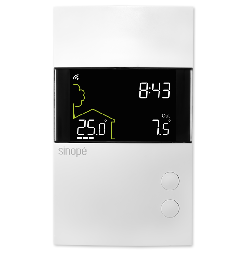 Smart Wi-Fi thermostat for in-floor heating - Sinopé
