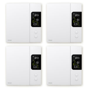 4 thermostats for 4000 W electric heating bundle – Zigbee