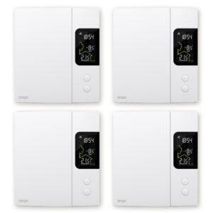 Ensemble de 4 thermostats pour chauffage électrique 4000 W – Zigbee