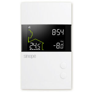 Smart Wi-Fi floor heating thermostat – 3600 W