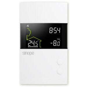 Low voltage smart thermostat 24Vac – Zigbee