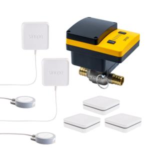 Sedna5 – Système intelligent de protection contre les dégâts d'eau –  2e gén. – ¾po – Prête pour PEX
