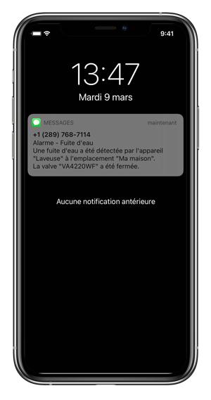SMS-dégât-d'eau-cellulaire