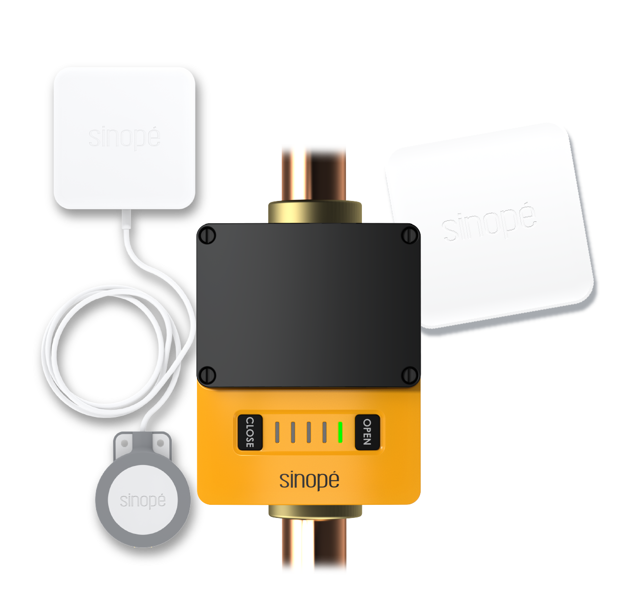 Sedna - Smart water damage protection system by Sinopé