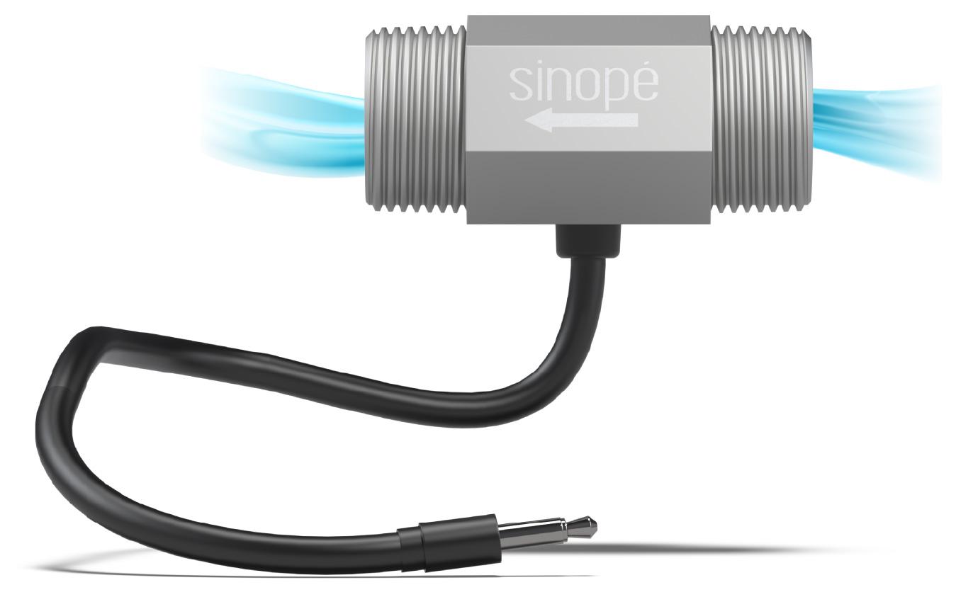 Sedna flow sensor by Sinopé