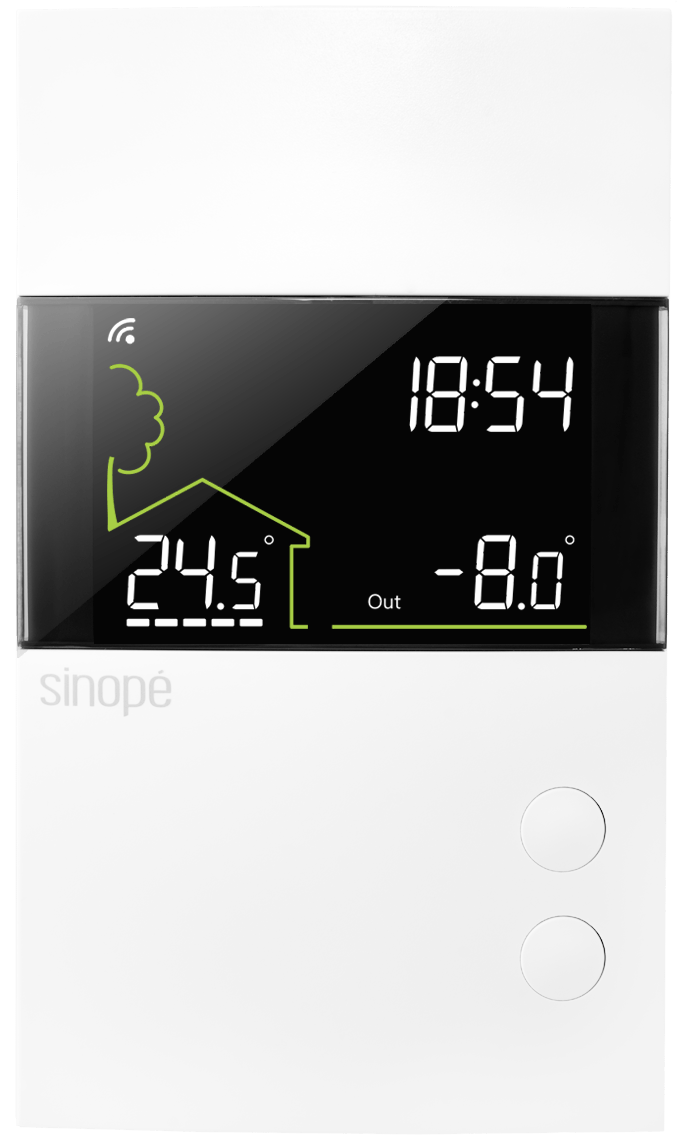 Control4 - low voltage thermostat - TH1400ZB-C4 - Sinopé