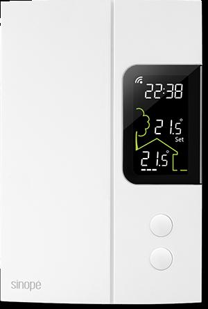 Control4 Baseboard thermostat - TH1123ZB-C4 - Sinopé