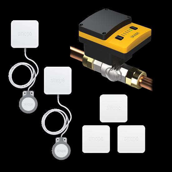 Control4 - smart water protection kit - VA4220ZB-K5-C4